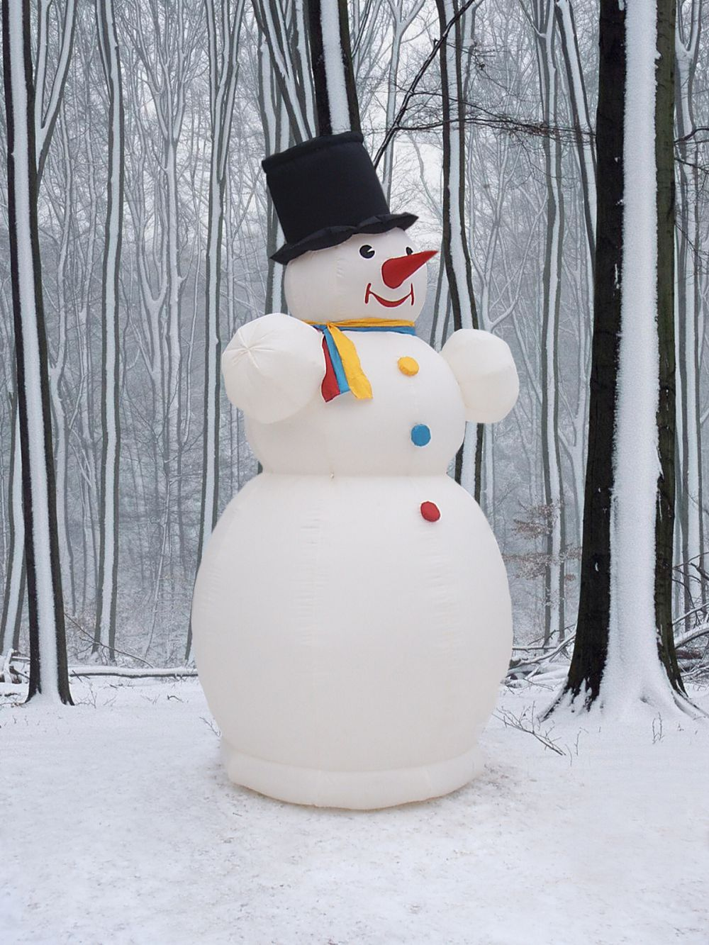 Как еще можно сделать снеговика 112